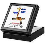 Kid Art Giraffe Keepsake Box