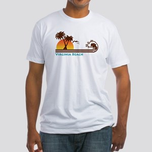 Virginia Beach Fitted T-Shirt