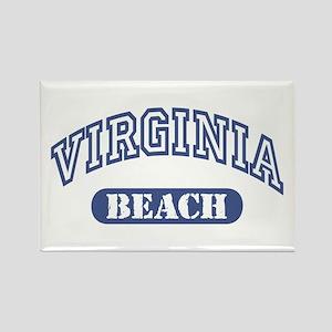 Virginia Beach Rectangle Magnet