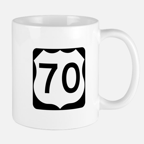 US Route 70 Mug