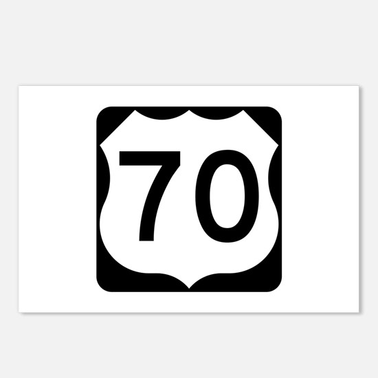 US Route 70 Postcards (Package of 8)