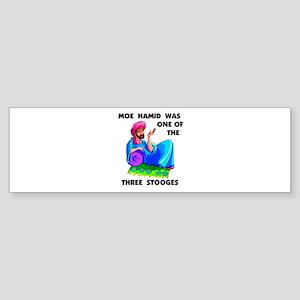 MOE HAMID Bumper Sticker