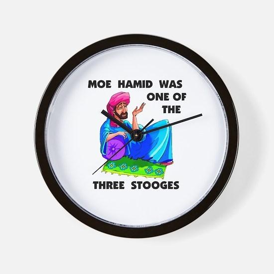 MOE HAMID Wall Clock