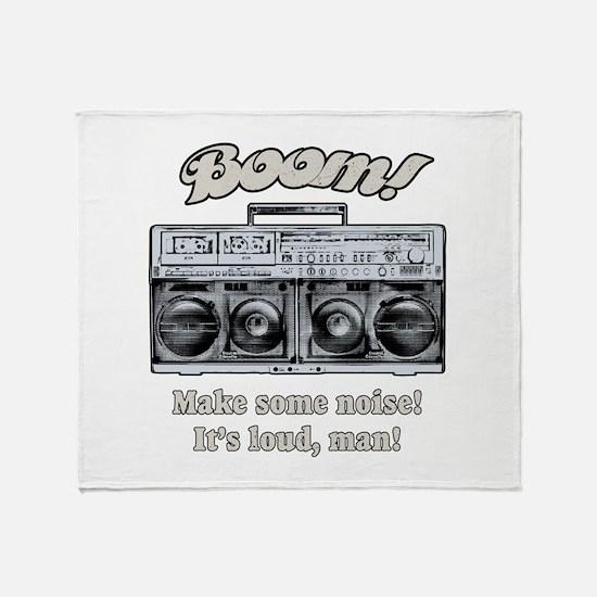 Boombox Throw Blanket