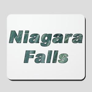 The Niagara Falls Mousepad