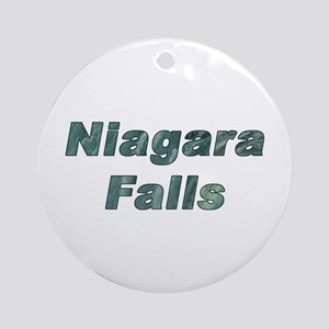 The Niagara Falls Ornament (Round)