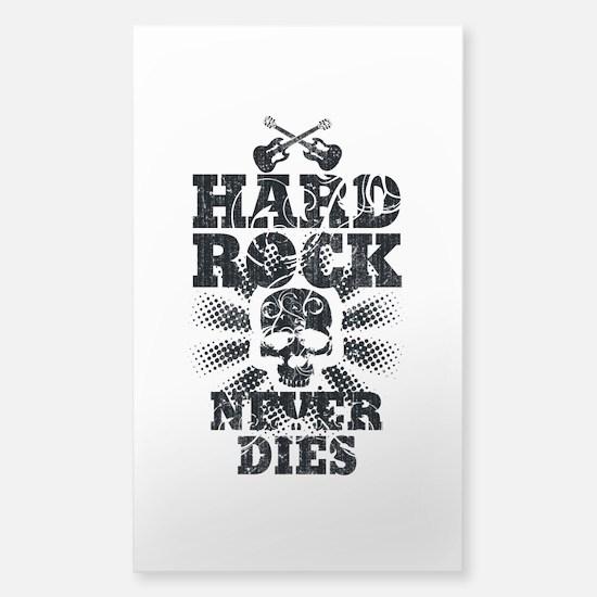 Hard Rock Never Dies Sticker (Rectangle)