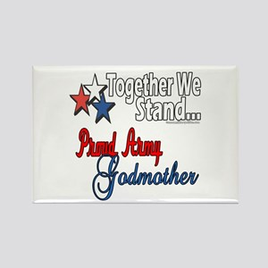 Army Godmother Rectangle Magnet