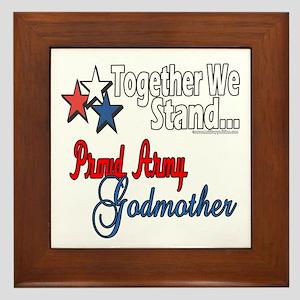 Army Godmother Framed Tile