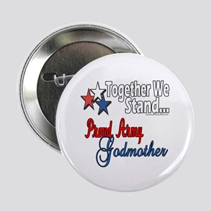 Army Godmother Button