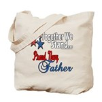 Navy Father Tote Bag