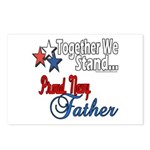 Navy Father Postcards (Package of 8)