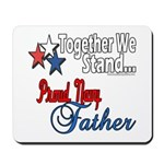 Navy Father Mousepad