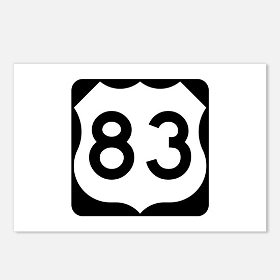 US Route 83 Postcards (Package of 8)