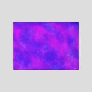 Purple 5'x7'Area Rug