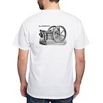 SmokStak White T-Shirt