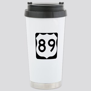 US Route 89 Stainless Steel Travel Mug