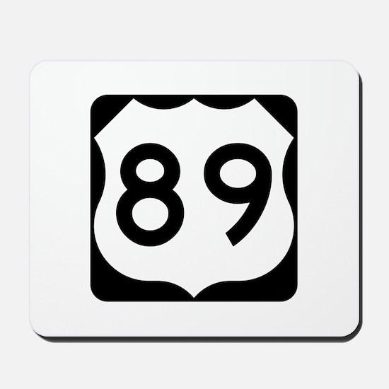 US Route 89 Mousepad
