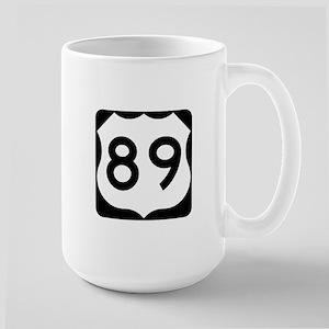 US Route 89 Large Mug
