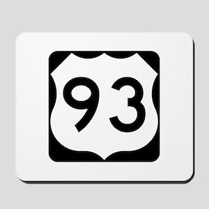 US Route 93 Mousepad
