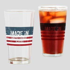 Made in Dutch Harbor, Alaska Drinking Glass