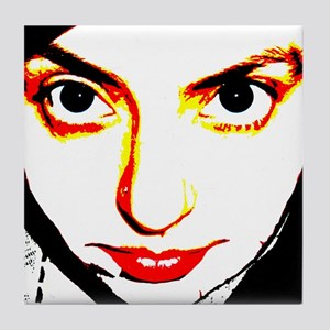 red lips Tile Coaster