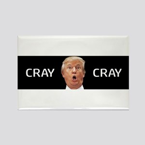 CRAY CRAY Rectangle Magnet