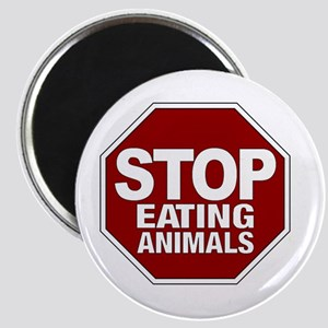Stop Eating Animals Magnet