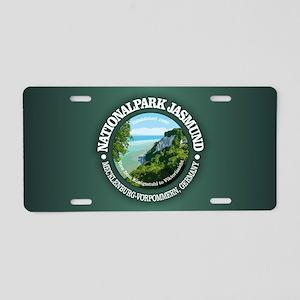 Nationalpark Jasmund Aluminum License Plate