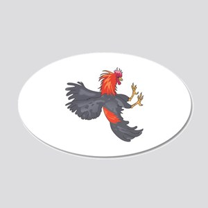 FIGHTING COCK Wall Decal