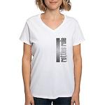 Rotties Rule Rottweilers Women's V-Neck T-Shirt
