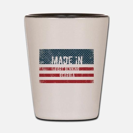 Made in Fort Benning, Georgia Shot Glass
