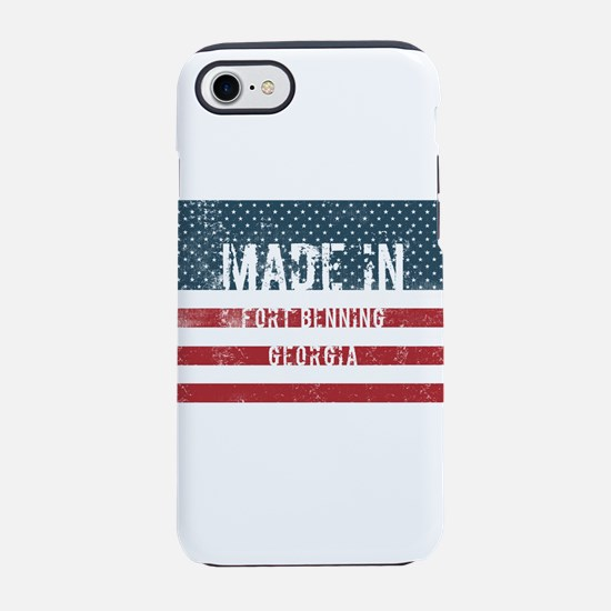 Made in Fort Benning, Georgia iPhone 7 Tough Case