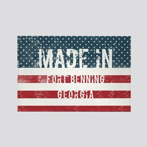Made in Fort Benning, Georgia Magnets