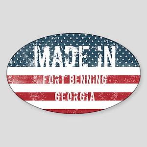 Made in Fort Benning, Georgia Sticker