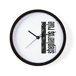 Shepherds Rule Wall Clock