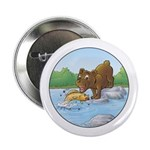 Buster's 'gone fishing' Button (10 pack)