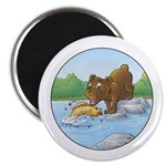 Buster's 'gone fishing' Magnet