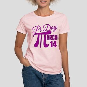 Pi Day Pink Women's Light T-Shirt