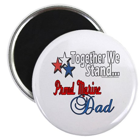 """Marine Daddy 2.25"""" Magnet (10 pack)"""