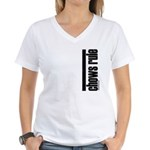 Chow Chow Rules Women's V-Neck T-Shirt