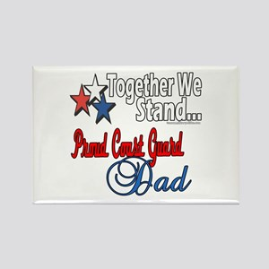 Coast Guard Father Rectangle Magnet