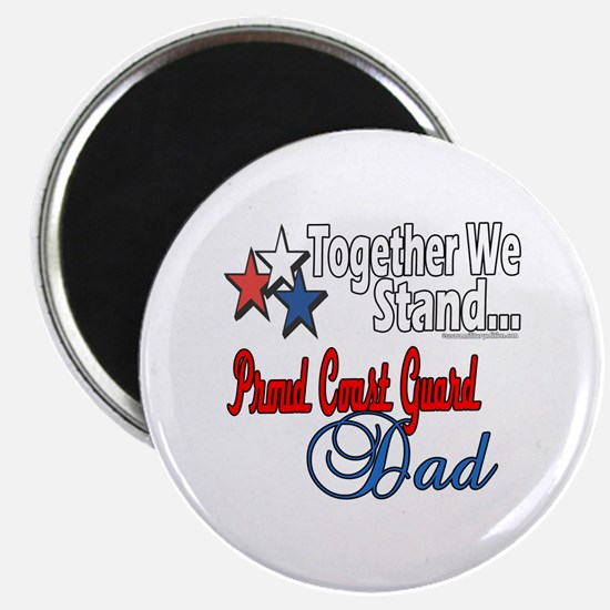 """Coast Guard Father 2.25"""" Magnet (100 pack)"""