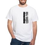Collies Rule White T-Shirt