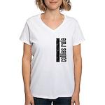 Collies Rule Women's V-Neck T-Shirt