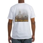 Point Reyes Lighthouse Fitted T-Shirt