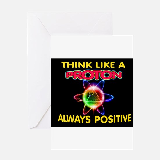 PROTON Greeting Cards