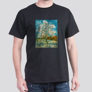 Pink Peach Tree Low Poly T-Shirt
