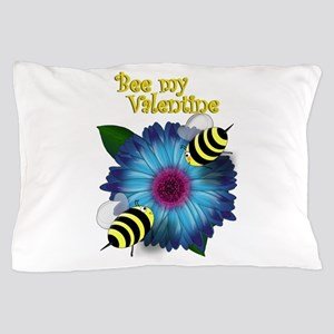 Honey Bees - Bee my Valentine Pillow Case