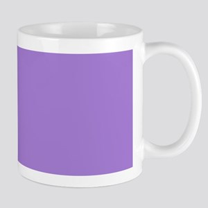 modern abstract purple Mugs